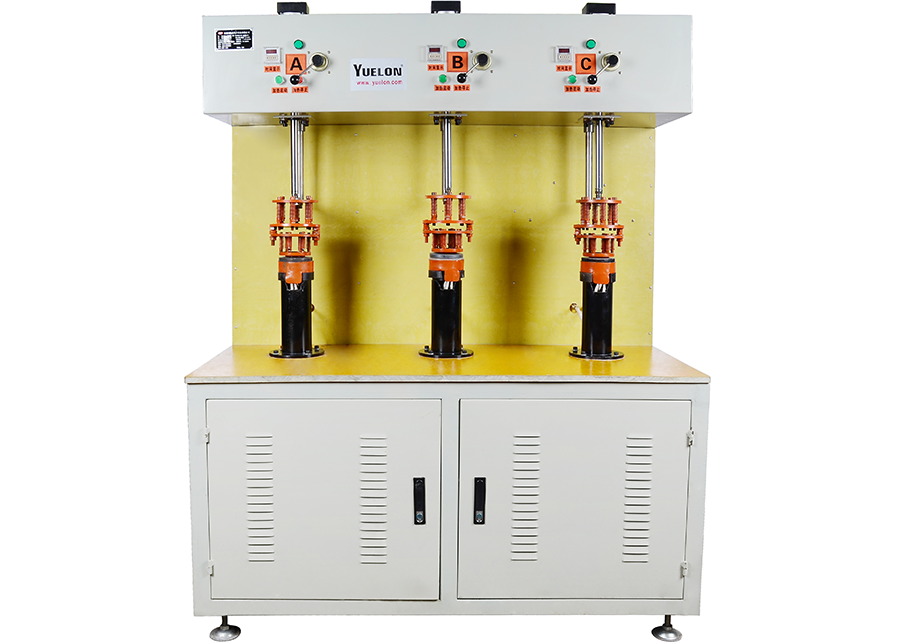 3-station induction brazing machine